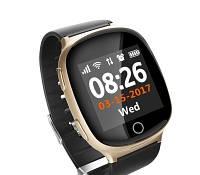 Детские умные часы GPS- S200 пульсометр золотой