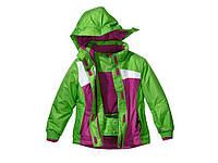 Дитяча лижна куртка Crivit (розмір 146-152) зелена, фото 1