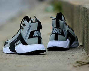 """Зимние кроссовки Nike Huarache Acronym Winter """"Grey"""" (Серые), фото 2"""