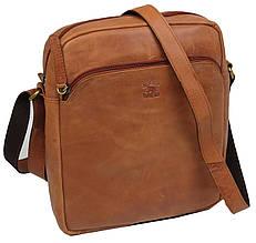 c9c86b16f51739 Кожаная мужская сумка планшетка Always Wild ZF1510 рыжий