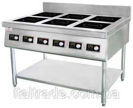 Плита индукционная Frosty 35-KP6 (21,0 кВт)