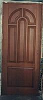 Двері, двері вхідні соснові, двері з натурального дерева (модель 31)
