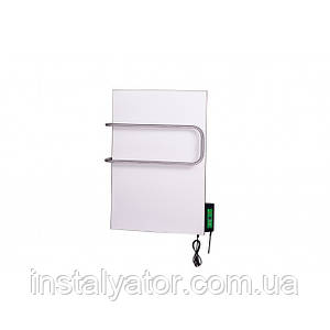 Керамический полотенцесушитель DIMOL Mini 07 (600x400х12, 270Вт, 10кг, с терморегулятором, рейлинги трубчатые)