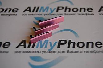 Боковая заглушка для Sony D5503 Xperia Z1 Compact Mini red