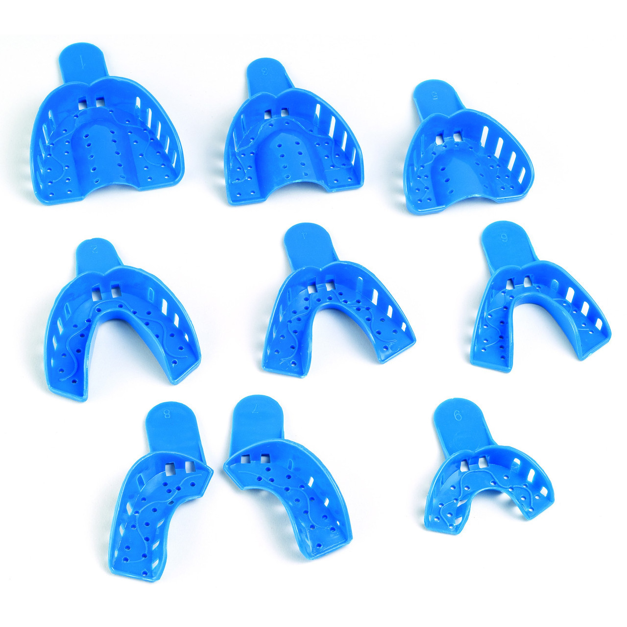 Ложки стоматологические Оттискная ложка. Ложка прикусная
