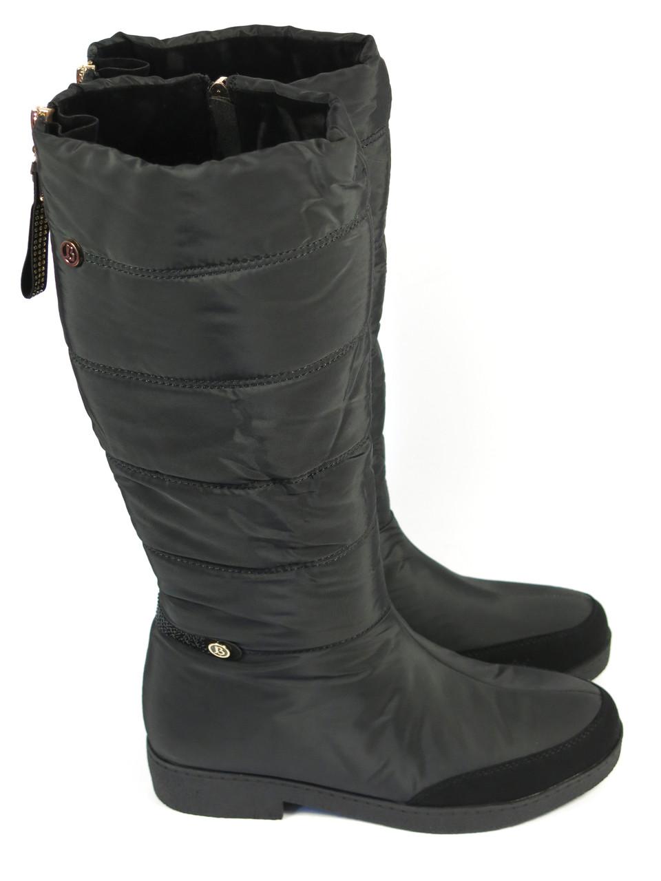Высокие сапоги дутики на низком каблуке Prima D'arte 123080 36