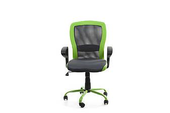 Крісло офісне LENO, Grey-Green