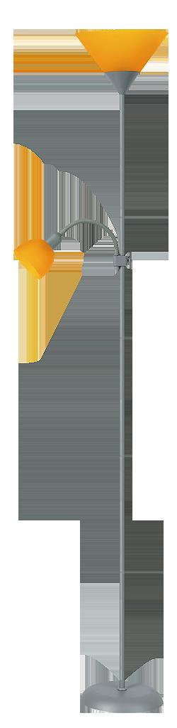 Торшер Rabalux Action 4026 Е27 1х100Вт пластик/металл