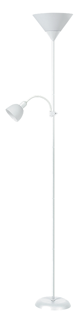 Торшер Rabalux Action 4061 Е27 1х100Вт белый/металл