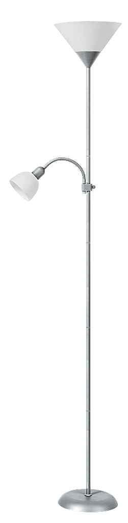 Торшер Rabalux Action 4064 Е27 1х100Вт серебро/металл