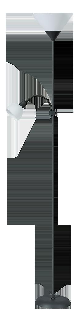 Торшер Rabalux Action 4062 Е27 1х100Вт черный/металл
