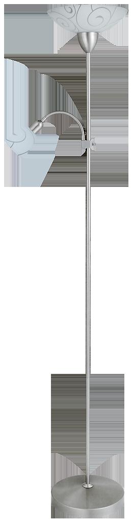 Торшер Rabalux Harmony lux 4091 1х100Вт Е27 белый/металл