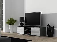 TV тумба Soho 140 Серый мат / Белый глянец Cama