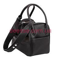 123e552a02f1 Оригинальная мягкая квадратная сумочка из черной эко-кожи De Esse