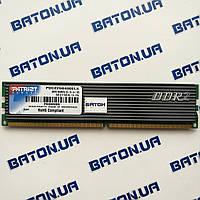 Игровая оперативная память Patriot DDR2 1Gb 800MHz PC2 6400U CL5 (PDC22G6400ELK) Б/У, фото 1