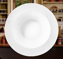Набор: Тарелка глубокая Wilmax 22,5 см 2 шт от Юлии Высоцкой WL-880102-JV/2C