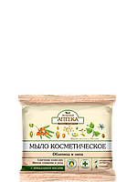 Мыло косметическое «Облепиха и липа» Зеленая аптека 75г