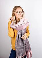 Тёплые шарфы Мальта, розовый