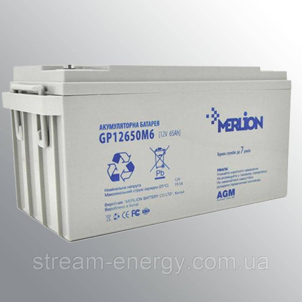 Аккумулятор AGM Merlion (12В -80Ач) GP12800M8