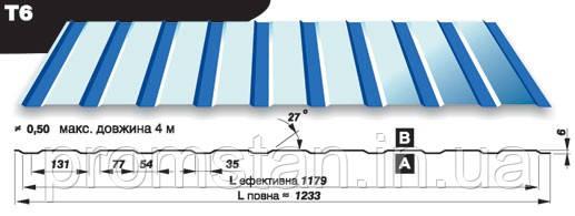 Профнастил Т-6, Николаев, Херсон