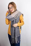 Тёплые шарфы Мальта, серый