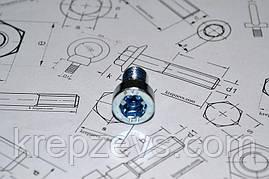 Винт М4 DIN 6912 оцинкованный