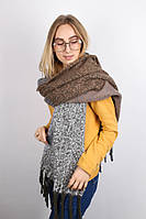 Тёплые шарфы Мальта, хаки