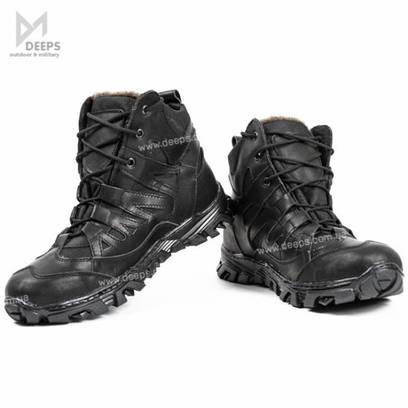 """Зимові черевики тактичні """"GL Winter"""" , Утеплені Чорні"""