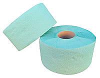 """Туалетная бумага «Джамбо» однослойная зелёная с перфорацией """"Green ix"""". В рулоне 100 м + видео, фото 1"""