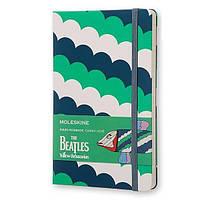 Средний блокнот Moleskine Beatles Линия Зеленый