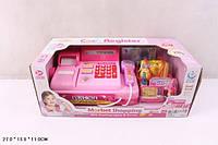 Кассовый аппарат 2338A 48шт2 св-звук, сканер, калькулятор, продукты,деньги в кор. 271311см
