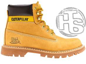 Мужские ботинки Caterpillar Colorado Boot Winter Yellow (с мехом) 89733