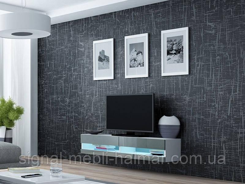 TV тумба Vigo New 140 Белый мат / Серый глянец Cama