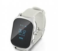 Подростковые умные GPS часы - Т58 серебро