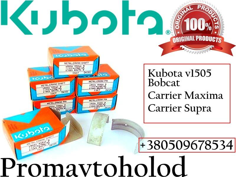 Комплект вкладишів для Kubota V1505   945745