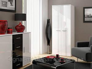Шкаф Uni Белый мат / Белый глянец Cama
