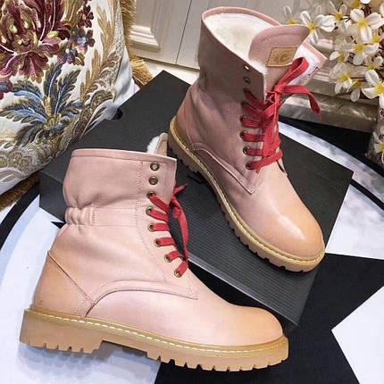 Женские кожаные зимние ботинки UGG.Купить в Украине!, фото 2