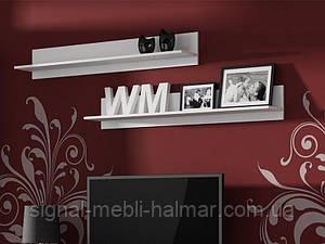 Полка Soho Белый мат комплект из 2-х полок (Cama)