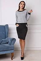 Теплый женский костюм из ангоры в размере 46,48,50