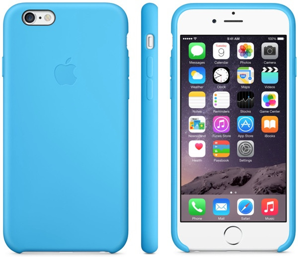 Apple Silicon Case for iPhone 6/6S Blue