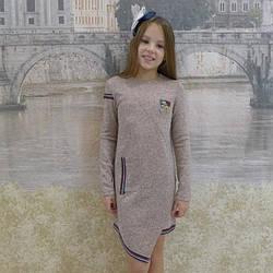 """Платье для девочек """"Рита"""", ангора, размеры 34-42"""