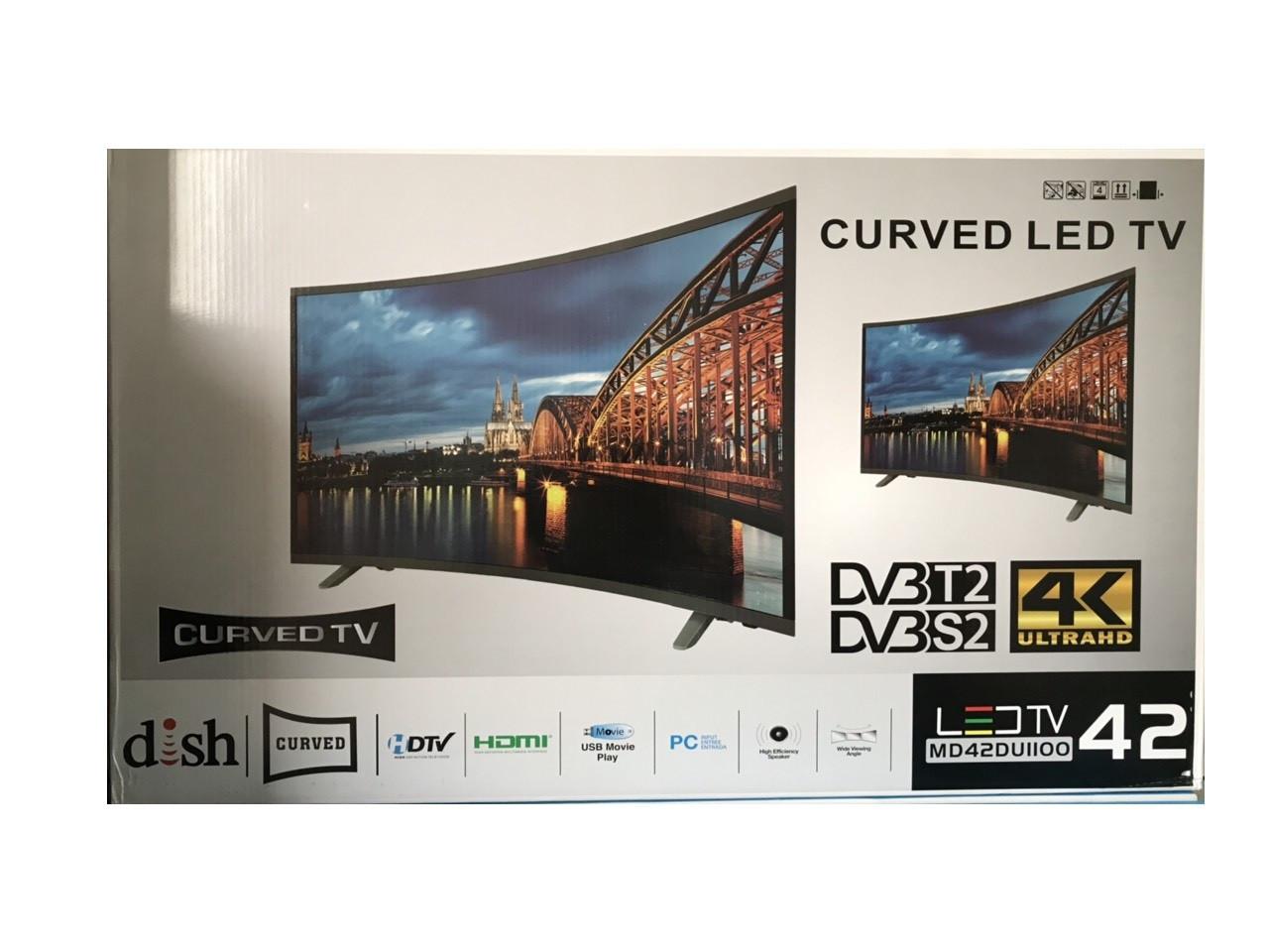"""Телевизор с изогнутым экраном TV 40"""" T2 S2"""
