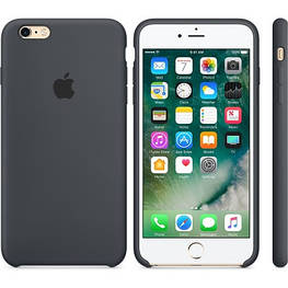 Apple Silicon Case for iPhone 6/6S Gray
