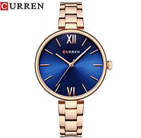 Брендовые женские часы CURREN. Красивые женские часы. Стильный дизайн, фото 1