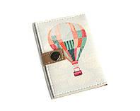 Обложка для биометрического паспорта -Воздушный шар-