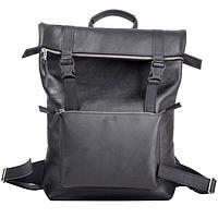 Рюкзак из кожи Jizuz Desert черный (гладкая кожа)