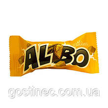 Конфеты Albo Nugat&caramel фабрика Баян Сулу