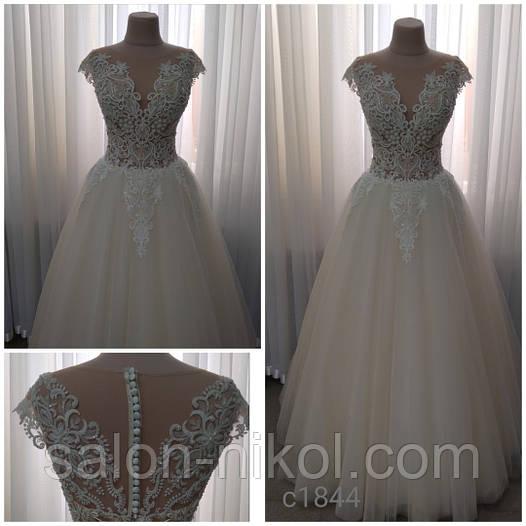 Свадебное платье 1844