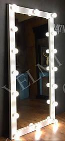 Зеркало с подсветкой Sirius ДСП Swisspan Вудлайн Крем (Velmi TM)