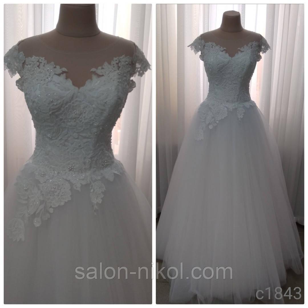 Свадебное платье 1843